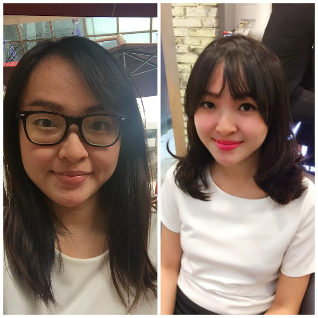 Korean hairstyle 2016 with singapore cca hair salon for C curl perm salon vim