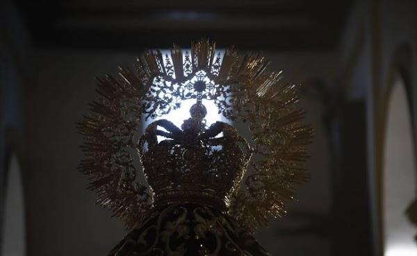 La corona de oro de la Amargura estará en la exposición del Consejo de Cofradías de Sevilla