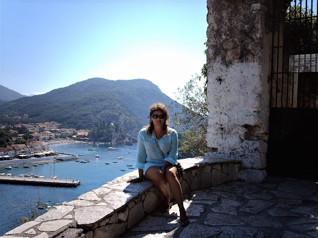 Vista su Parga dal Castello veneziano