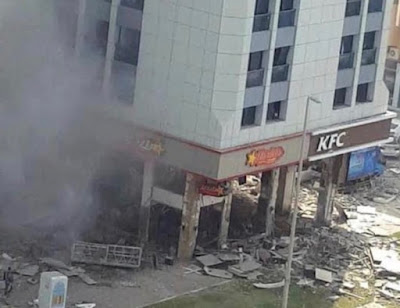 UAE: 2 Dead in a Gas Cylinder Explosion in Abu Dhabi; Another blast hit KFC and Hardees