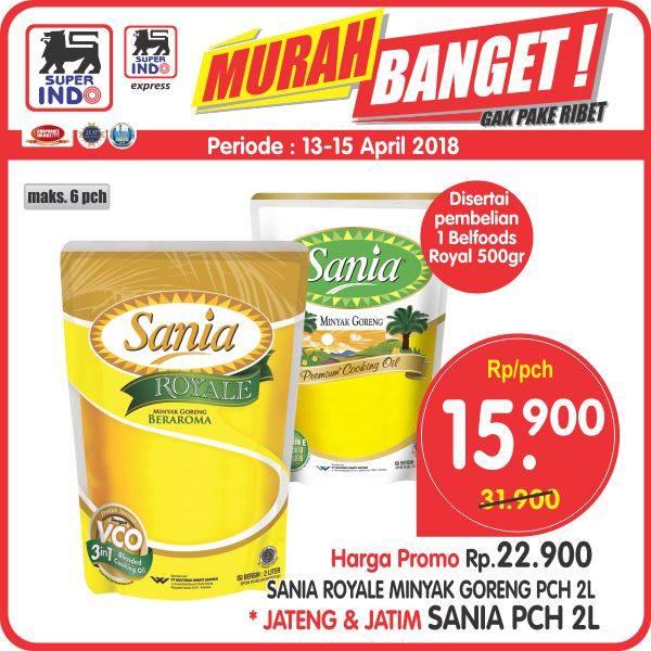 Sania Royale Minyak Goreng