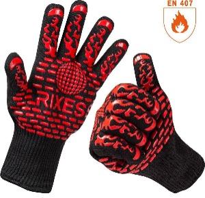Rixess bbq handschoenen / ovenhandschoenen