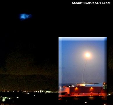 Florida Rocket Launch Prompts UFO Calls 8-7-13