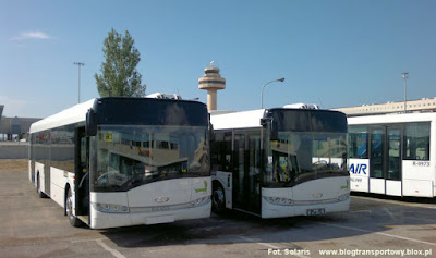 Solaris Urbino 12 wersja lotniskowa