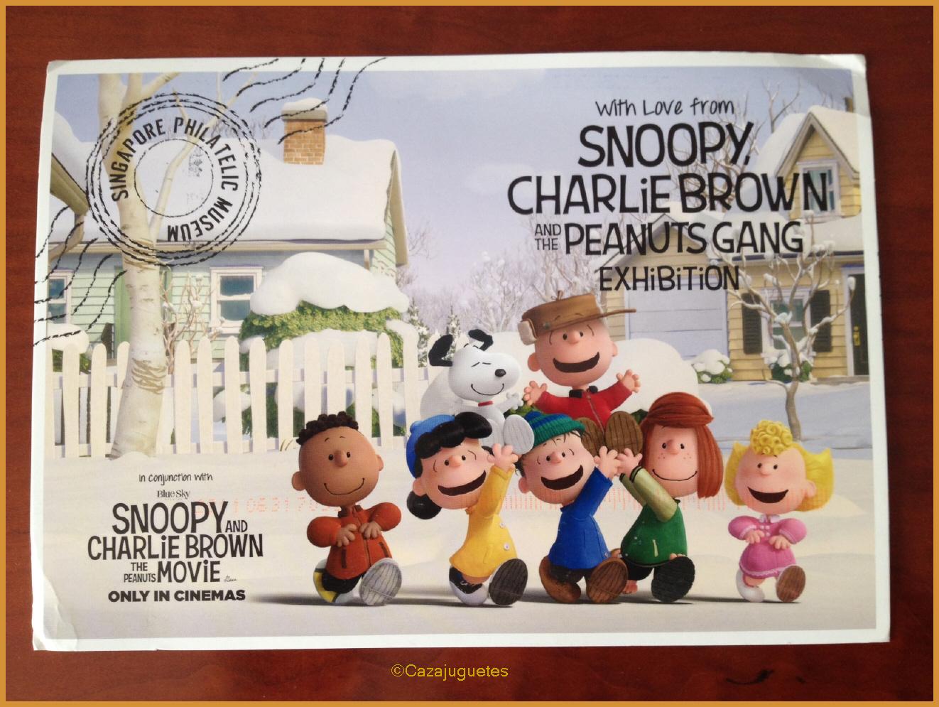 Hoy te recomiendo: Snoopy exposición en el Museo Filatélico de ...