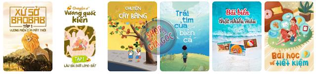 Umbalena giúp bé học từ vựng và làm quen ngữ pháp từ đơn giản đến phức tạp