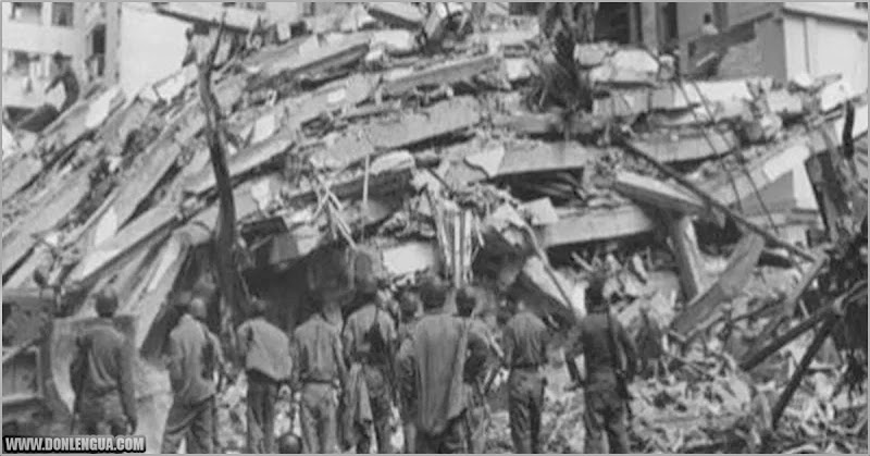 SISMO   Hoy es el aniversario del Terremoto que destruyó Caracas en 1641