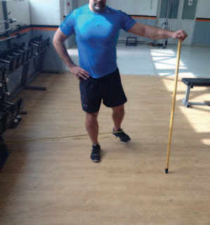 Standing Short Range Hip Abduction Finish - El Paso Chiropractor