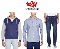Flat 50% to 70% Off on Flying Machine Men's Clothing @ Amazon