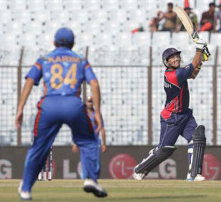Afghanistan vs Nepal 9th Match ICC World T20 2014 Highlights