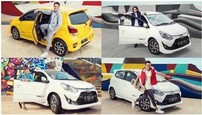 Review Eksterior dan Interior Mobil Agya Surabaya