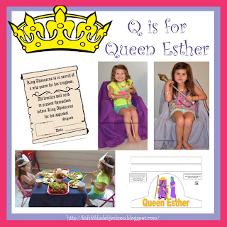 http://www.biblefunforkids.com/2014/08/preschool-alphabet-q-is-for-queen-esther.html