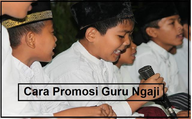 promosi guru ngaji