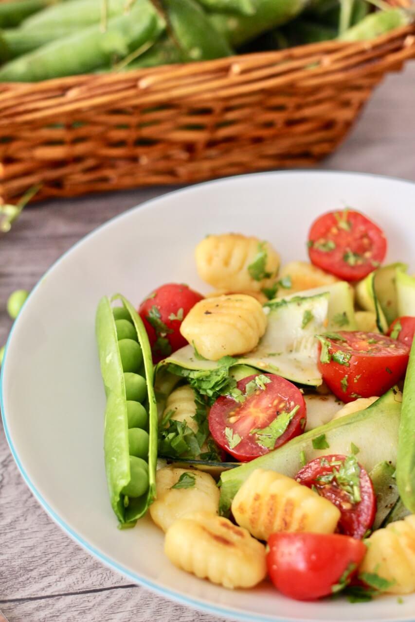 Gnocchisalat mit Gemüse Rezept