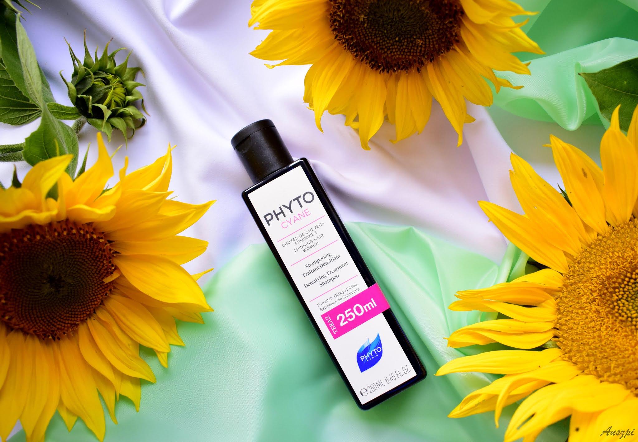 Rewitalizujący szampon wzmacniający włosy Phytocyane