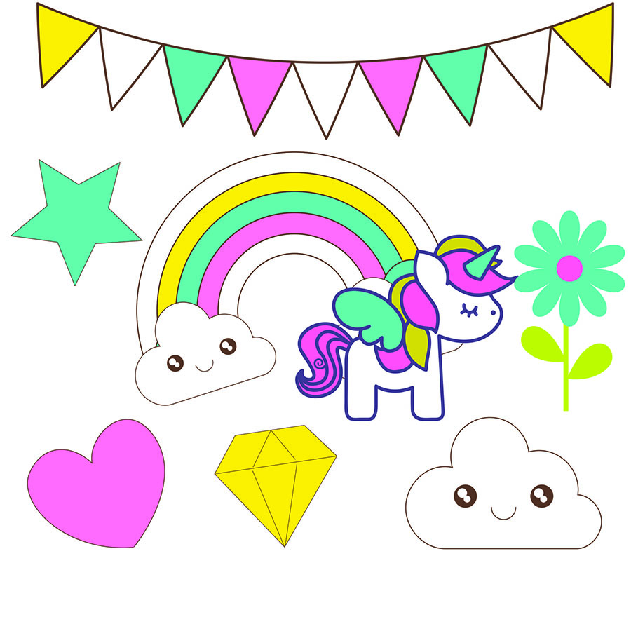 unicorns clip art for scrapbooking oh my baby rh baby ohmyfiesta com clipart for scrapbooking free clip art for scrapbooking free to print