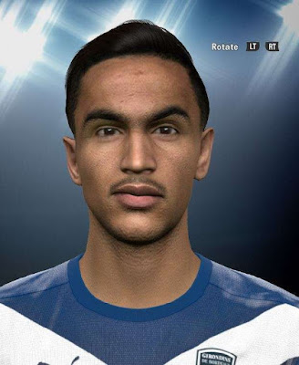 PES 2016 Adam Ounas Face