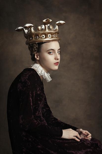 Loveisspeed. Argentinian Painter Romina Ressia Classic Renaissance Portrait