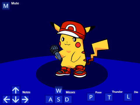Pikachu is Funky today v3 - Friday Night Funkin'