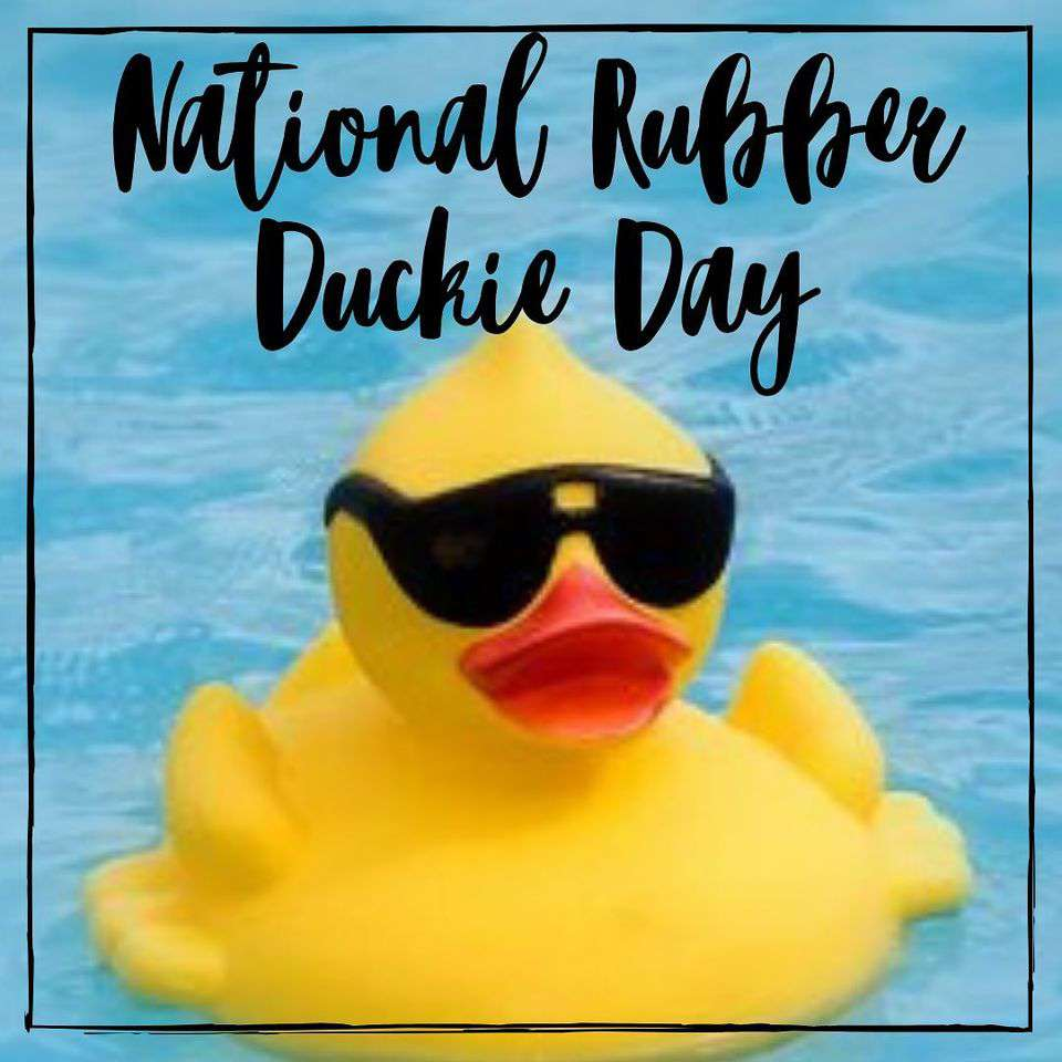 National Rubber Ducky Day Wishes Awesome Picture