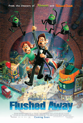 Flushed Away 2006 Dual Audio Hindi 720p BRRip ESub 800MB