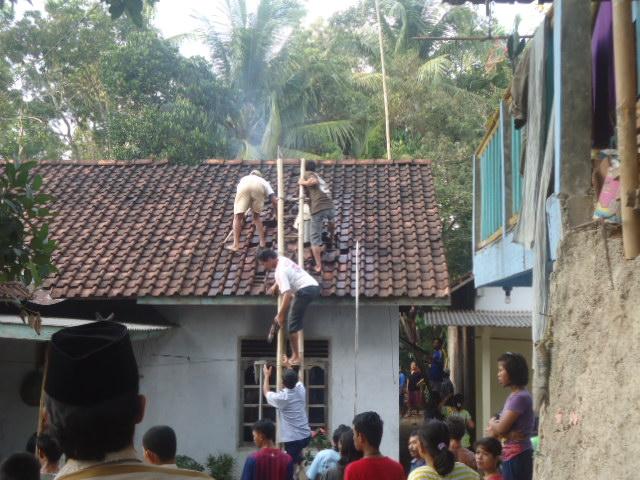 Rumah Kebakaran karena Konsleting Listrik