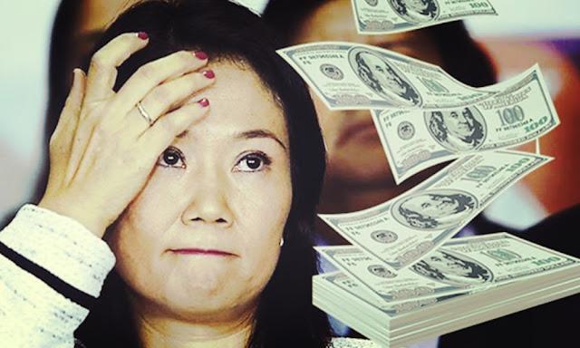 Dionisio Romero entregó dinero a Keiko