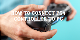 How to connect ps4 controller to pc, read here