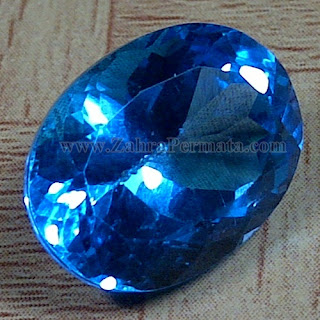 Batu Permata Blue Topaz - ZP 982