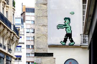 Sunday Street Art : Invader - rue des Arquebusiers - Paris 5