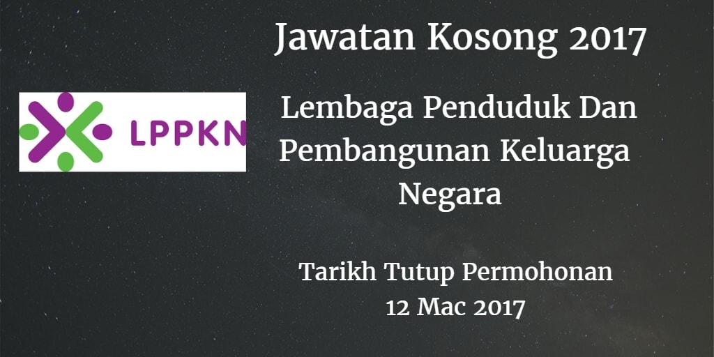Jawatan Kosong LPPKN 12 Mac 2017
