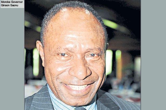 Morobe Governor Ginson Saonu
