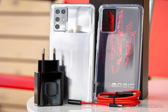 مراجعة هاتف الألعاب الجديد Nubia Red Magic 6R  من شركة ZTE