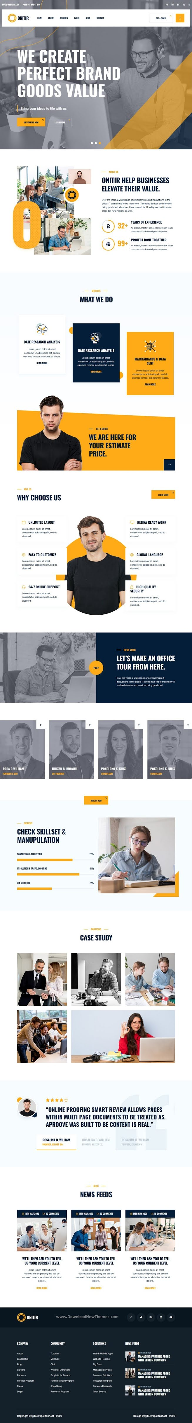 IT Solutions & Services React Template