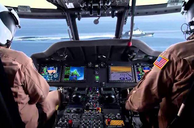 Sikorsky MH-60R cockpit