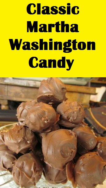 Classic Martha Washington Candy
