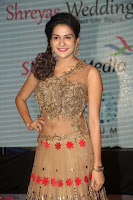 Jenny in brown transparent sleeveless anarkali dress at Shamanthakamani pre release function ~  Exclusive 024.JPG