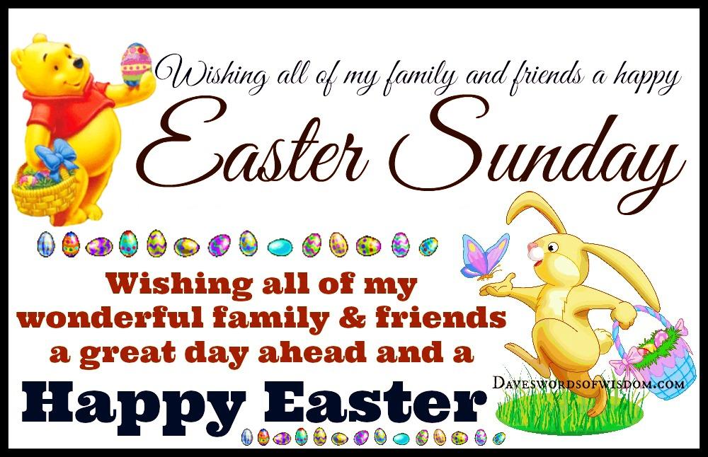 Daveswordsofwisdomcom Happy Easter Sunday