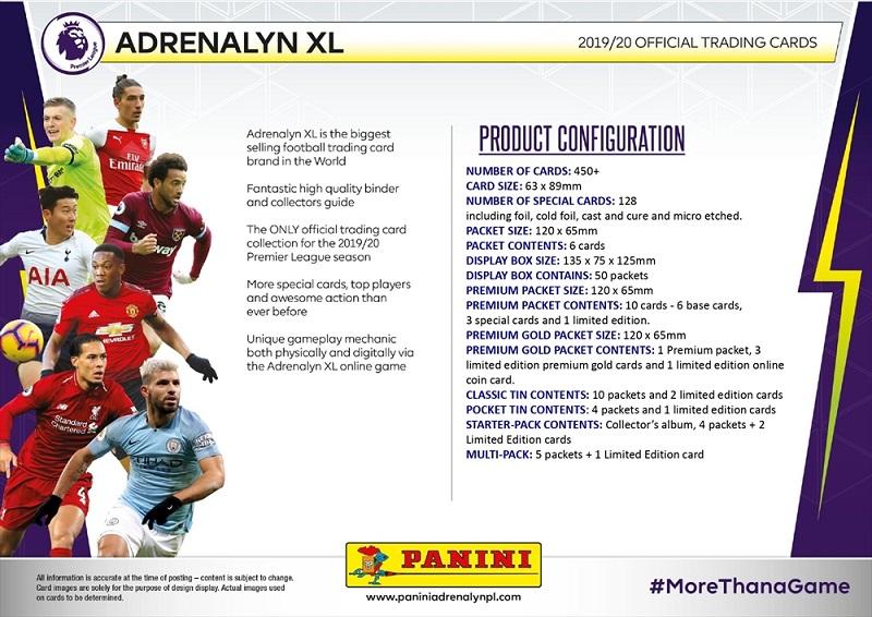 Panini ADRENALYN XL 2019-2020 Sergio Agüero Premium Gold Edición Limitada