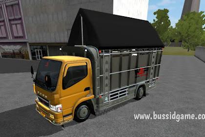 Mod Truck Canter Mukhlas Minimalis Terpal Segitiga (Varian 34)