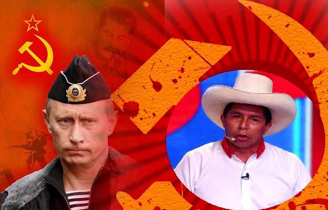 Retorno do comunismo Putin na Rússia, Pedro Castillo no Peru