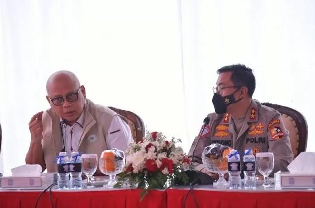 Kompolnas Apresiasi Kinerja Korlantas Polri Dalam Operasi Ketupat 2021