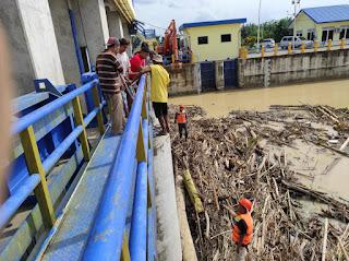 Pemko Tebing Tinggi Lakukan Recovery Akibat Banjir Sungai Padang
