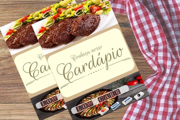 Cardápio para dieta low carb