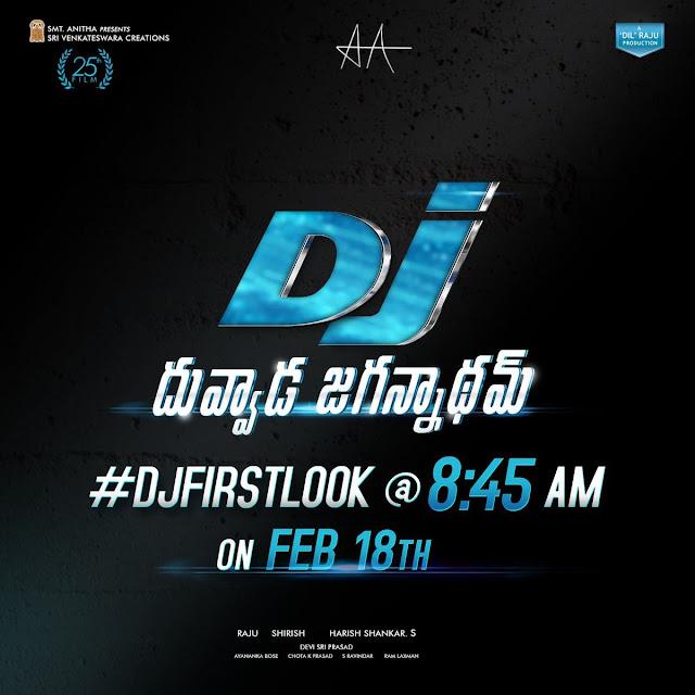 Allu Arjuns Dj First Look Posters