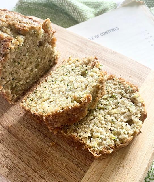 Church Cookbook Zucchini Bread
