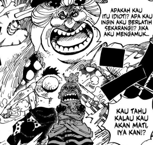 Manga One Piece 947 Spoiler: Big Mom Terluka, Haki Baru Luffy Sukses Besar!