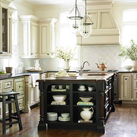 Traditional White Kitchen Cabinets Ideas: Kitchen Cabinet Ideas