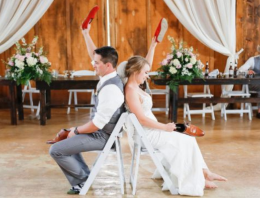 Seated Wedding Reception Games