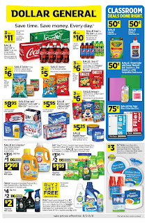 ⭐ Dollar General Ad 8/2/20 and 8/9/20 ⭐ Dollar General Weekly Ad August 2 2020